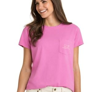 NWT Vineyard Vines Relaxed Vintag Whale Pocket Tee